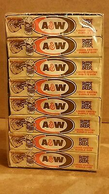 Vintage A & W Root Beer Bubble Gum