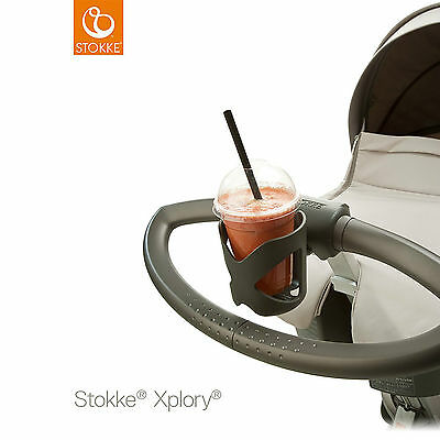 Stokke Cup Holder - Fits Scoot, Xplory, Crusi - NEW IN BOX ORIGINAL GENUINE ITEM
