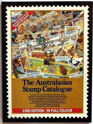 The Australasian Stamp Catalogue 23th Edition