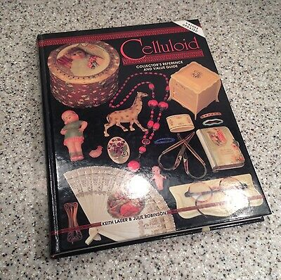 CELLULOID Collectors Book Value Guide HARDCOVER BOOK ~ Lauer / Robinson