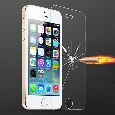 Premium 9H Real Tempered Glass Screen Protector Film guard For Apple iPhone aua