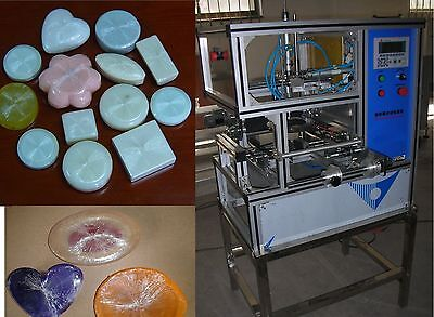 Automatic Stretch Film Soap Packaging Wrapping Machine Wrapper/Hotel Family Soap