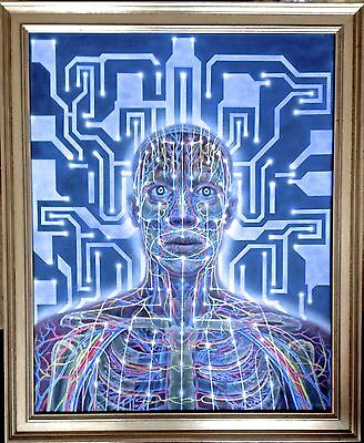 Original Alex Grey Art - THIS IS NOT A COPY OR PRINT. From Artist directly