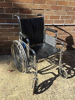 Folding Wheelchair Model Rh4 No Tyres Or Footrests Ryde