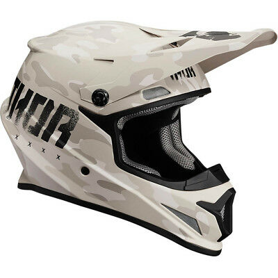 Thor NEW Mx 2017 Sector Covert Matte Sand Camo Motocross Dirt Bike Helmet
