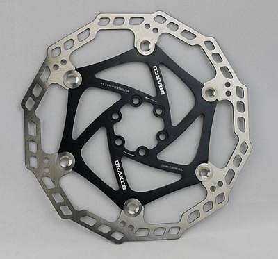 Floating Disc Brake Rotor Japan Stainless Steel Black 203Mm 8Nch New Old Stock