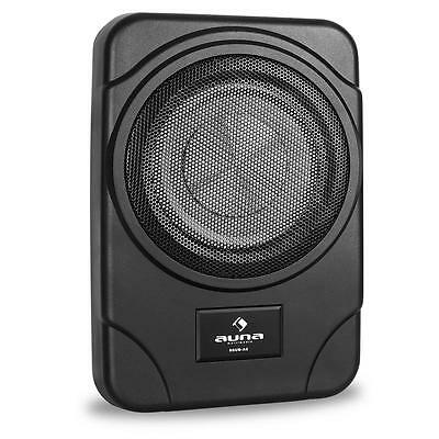 "Flat In Car 8"" Active Under Seat Subwoofer 160W Max Power Bass Woofer Speaker"