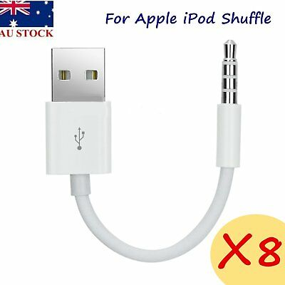 USB Charger Data & Sync Cable Cord for Apple iPod Shuffle 1st 2nd 3rd Gen 2 & 3