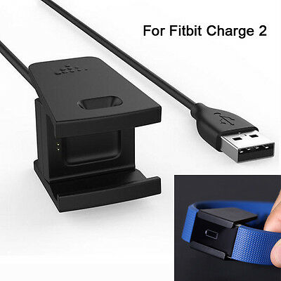 New Clip USB Charging Cable Replacement Charger Cord for Fitbit Charge 2 Tracker