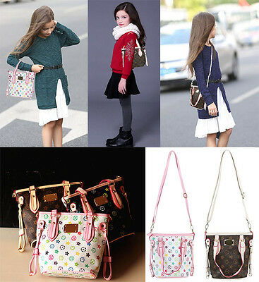 Girls Fashion Bags Girl Accessories Kids Handbags PU Party Shoulder Bucket bags
