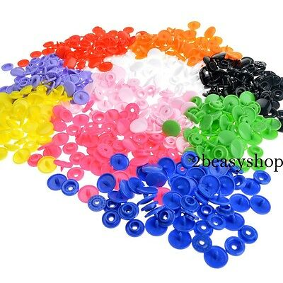 150 T5 KAM Plastic Resin Snap Fastener/Popper Press Stud Cloth Diapers Button AU