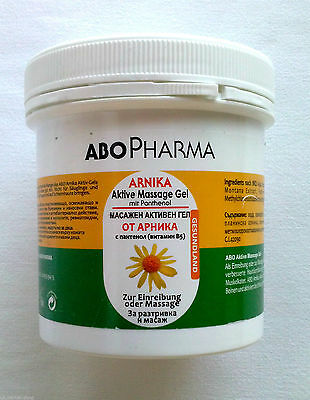 Abo Pharma Arnica Active Massage Gel + Vitamin B5 -Muscle and Joint Pain 250ml