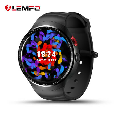 LEMFO Bluetooth LES1 Smart Watch 3G SIM GPS WiFi 16GB Phone Band For Android iOS