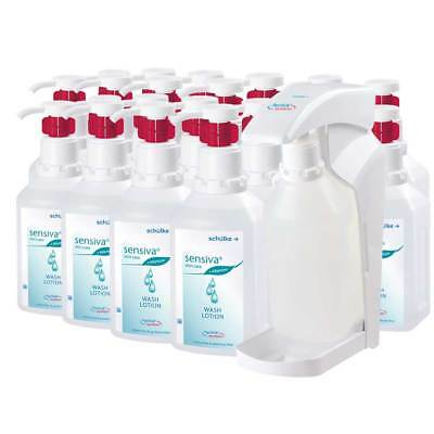 20x 500ml Sensiva® wash lotion hyclick, Waschlotion, + 1x hyclick®-Spender
