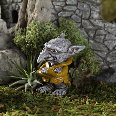 "2.25"" My Fairy Gardens Mini Figure - Ichabod the Troll - Miniature Figurine"