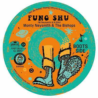 MONTY NEYSMITH & THE BISHOPS FUNG SHU/SKIN FLINT 7 (orange vinyl)