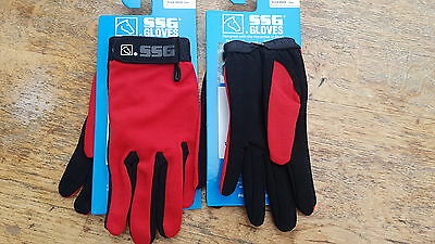 Red riding gloves .ssg all weather .extra small