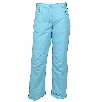 Youth Big Kids Girls Ski/Snow Pants Aqua SZ 9-10,10-12, 12-14,16 waterproof