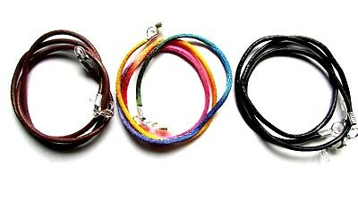 "Rainbow Faux Silk Eye / sun Glasses Lanyard Silver Toned (24"")"