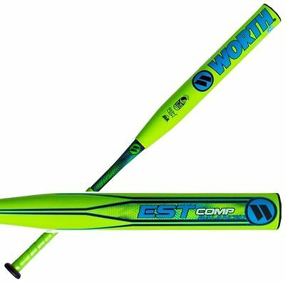 "2017 Worth EST Comp 13.5″ Balanced USSSA Slowpitch Bat WESTBU 34""/27 oz, new"