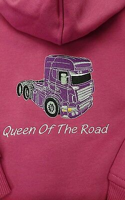 Scania Girls Hoodie 6 Months- 6 Years Style 3