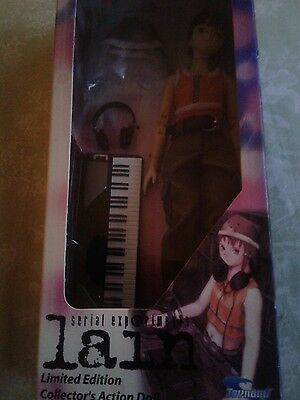 Toynami Serial experiments Lain limited edition action figure DJ outfit