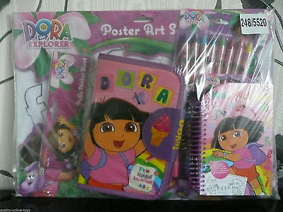 Brand New Dora The Explorer Poster Art Set Dora Boots Swiper Benny Tico