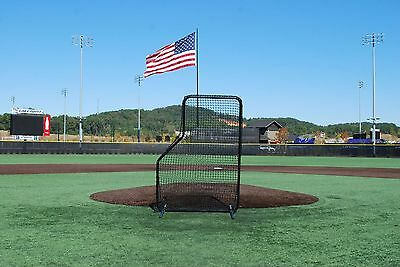 7' X 5' Armor JR Baseball / Softball Pitching L-Screen for Batting Practice