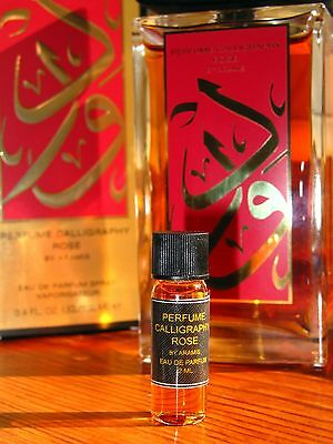 Aramis Calligraphy Rose Eau de Parfum 2ml Sample Vial.