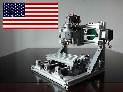 DIY CNC1610 Mini 3 Axis CNC Router Kit PCB Milling Wood Carving Machine + LASER