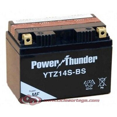 Bateria POWER THUNDER YTZ14S-BS (compatible con YTZ12S y YTZ14S)