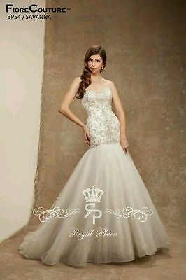 Fiore Couture Wedding Dress Gown Shirley 10 900 00 Picclick