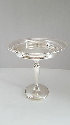Vintage Sterling Silver Fisher Tall Compote Dish