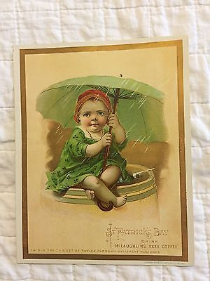2 XXXX Coffee Trade Cards, W. F. McLaughlin & Co.