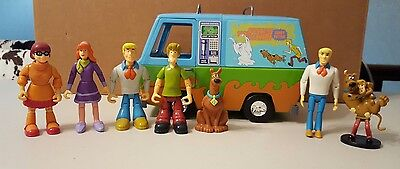 Scooby Doo The Mystery Machine Ghost Patrol Hanna Barbera 2005 Rpg48Ky