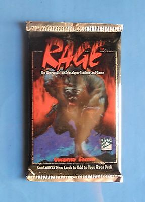 Rage The Werewolf CCG TCG Card Booster Pack NEW SEALED Ltd Ed Game