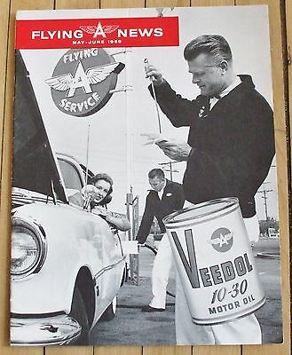 May June 1959 Flying A News Magazine 20 Pages Nice