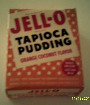 Vintage JELL-O TAPIOCA PUDDING MIX 3 1/4 Oz. Unopened NOS