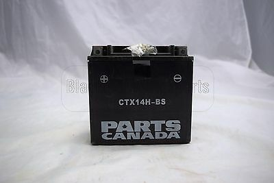 Parts Canada YTX14H-BS - 12V Motorcycle Battery