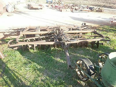 John Deere 13 ft disc harrow