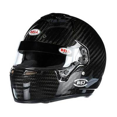 Bell RS7 Auto Racing Helmet Carbon Fiber 7-3/8 SA2015    +IN STOCK, SHIPS NOW+