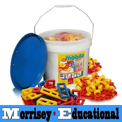 Mobilo Toy - Large Bucket 234 Pieces - MORRISEY EDUCATIONAL
