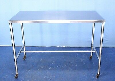 UMF Stainless Steel Medical Back Table Medical Instrument Table with Warranty