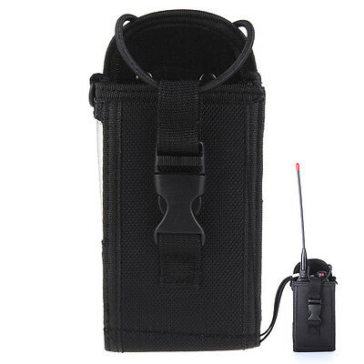 Large Nylon Walkie Talkie Radio Case Pouch Holster for Two Way Radio Motorola