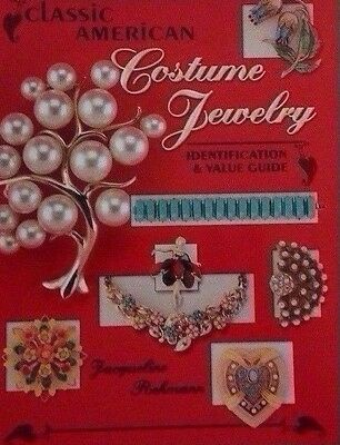 Vintage American Jewelry Identification Value Guide Collector's Book