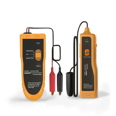 AU KOLSOL F02 Underground Wire Locator Tracker Lan With Earphone Cable Tester