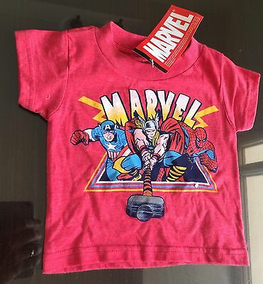 Baby t-shirt 12M MARVEL SUPERHEROES from Red Decco