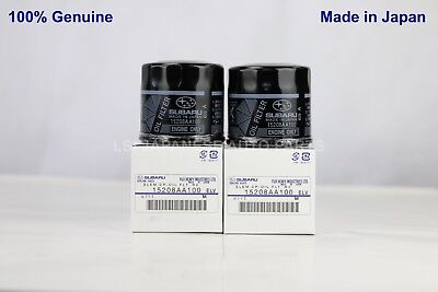 2 x New Genuine Subaru Oil Filter 15208 AA100 Ryco X-ref:Z436