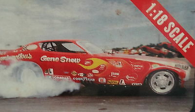 """1/18 Auto World Legends of the Quarter Mile """"Rambunctious"""" Funny Car"""