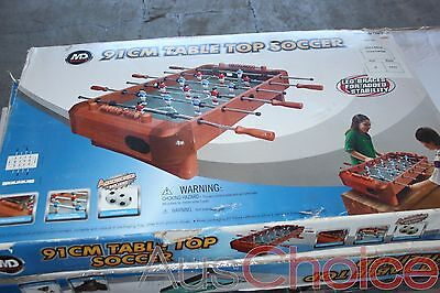 MD Sports 91cm Foosball Table Top Soccer - New